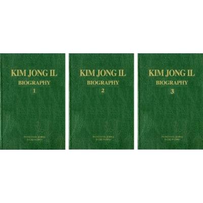 Kim Jong Il Biography Volumes 1,2,3