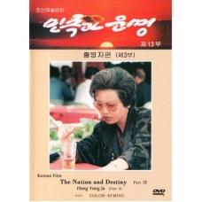 DVD The Nation and Destiny Part 13 - Hong Yong Ja Part 3 - 민족과 운명 제13부  홍영자편3